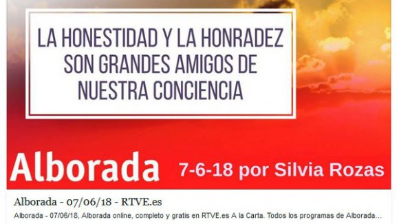 La ALBORADA de Radio Nacional de España